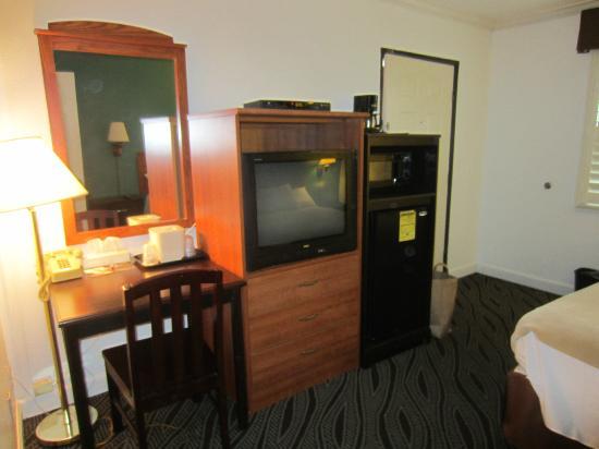 Saharan Motor Hotel: Habitación