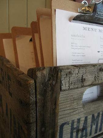 La Gare Auberge Restaurant Bar: Menus