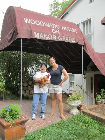 Woodward House on Manor Grade: Myself and Joan