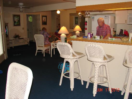 Barrier Island Station at Kitty Hawk: View from dining area
