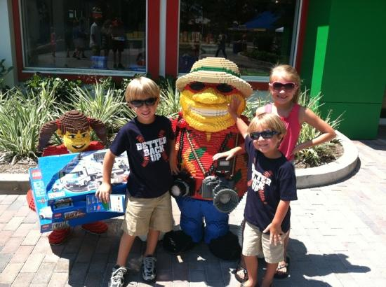 Legoland Florida Resort: My kids at Legoland!!