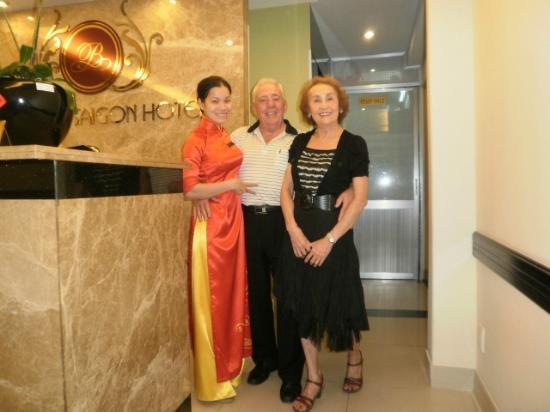Beautiful Saigon Hotel : Charles and Helen