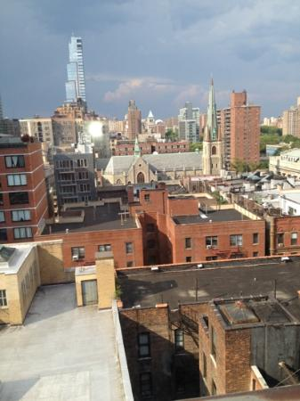 Days Inn Hotel New York City-Broadway: view from room 1117