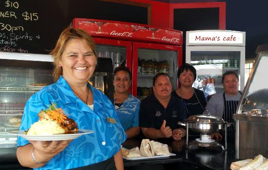 Sea-Salt: The friendly staff at Mama's cafe