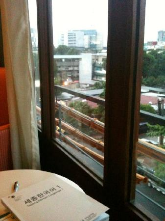 The Cocoon Boutique Hotel: View from the window