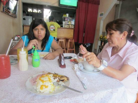 Restaurante Blanquita: saboreando rica comida