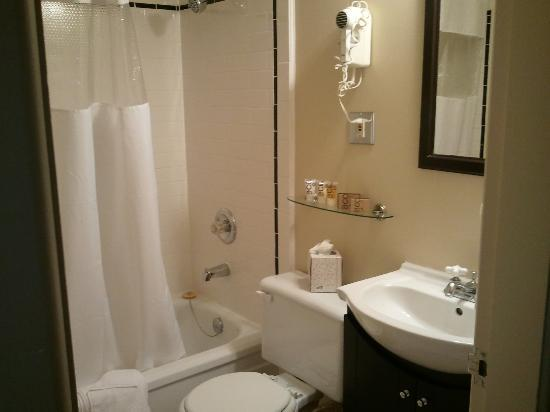 The Plaza Hotel: Small Bathroom