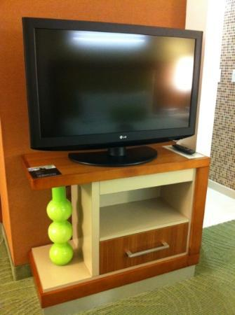 SpringHill Suites Houston Baytown: Flat Scree TV