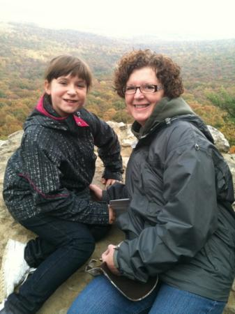 Hawk Mountain Sanctuary: looking out over the river of rocks