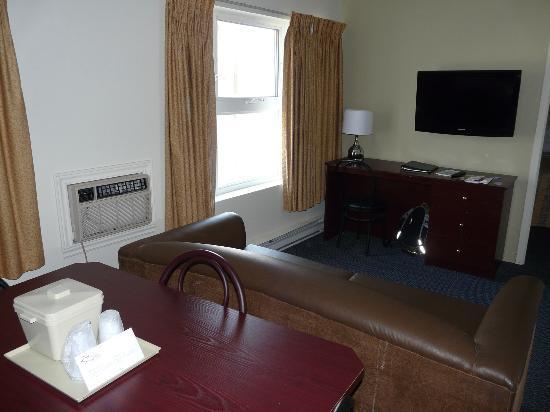 Hotel du Nord: suite 3 personnes hôtel du Nord à Québec
