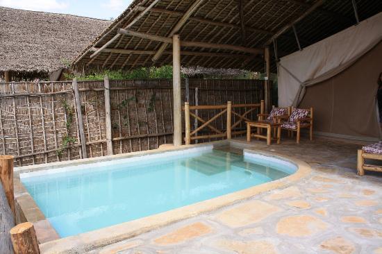 Manyatta Camp: Invigorating pool