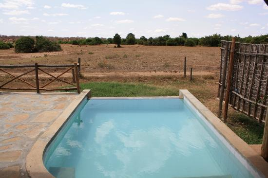 Manyatta Camp: View from pool!