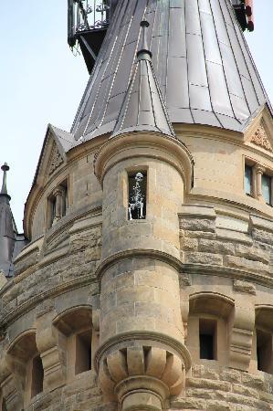 Moszna Castle. Decor