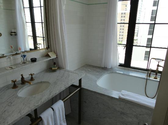 The Bowery Hotel: Bathroom With A View