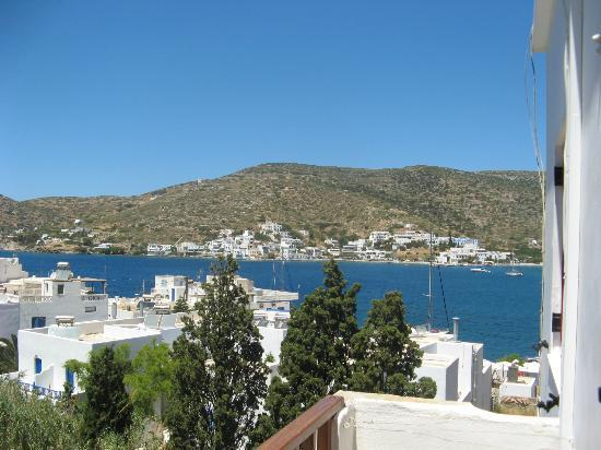 Anna Studios Amorgos: View from balcony