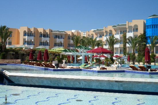 Hasdrubal Thalassa & Spa: piscine exterieure