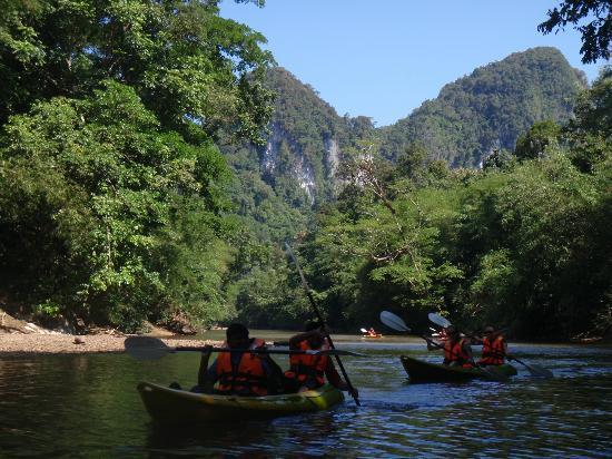 First Sail Adventure Day Tours: Kayaking