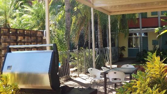 Katherine River Lodge Motel: BBQ area