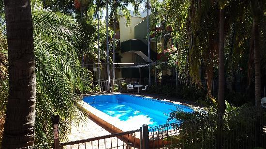 Katherine River Lodge Motel: Renovated pool area