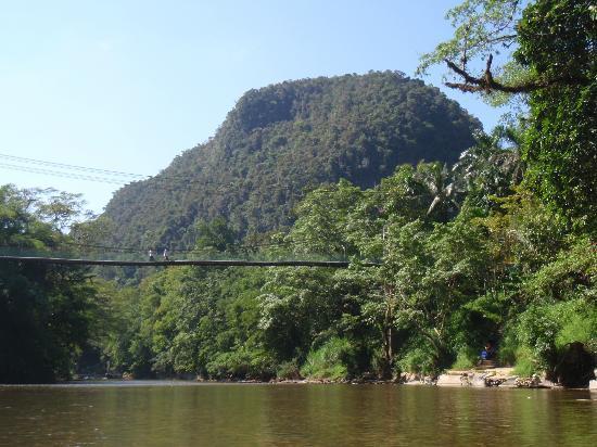 First Sail Adventure Day Tours: Bridge to Adrian`s Village