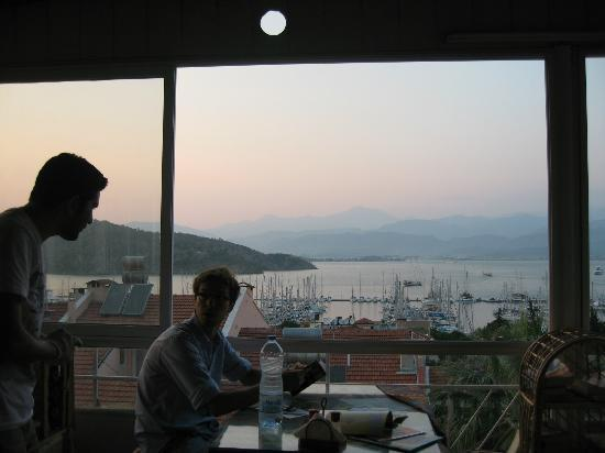 Ideal Pension Hostel: View from rooftop terrace