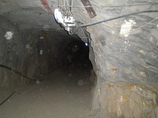 La Mine Bleue: One of the side-galleries
