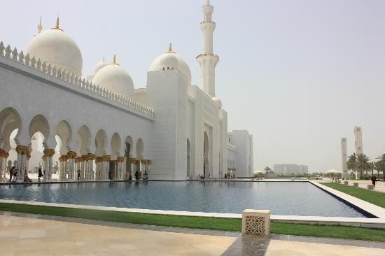My Trip Dubai - Day Tours: sheikh zahid mosque -one of the biggest mosque