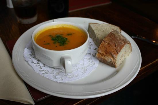 The Huntsman Inn: Carrot and Coriander Soup (£4.25)