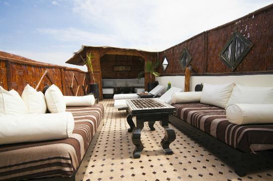 Riad Dar Najat: Marrakech best roof terrace's riad