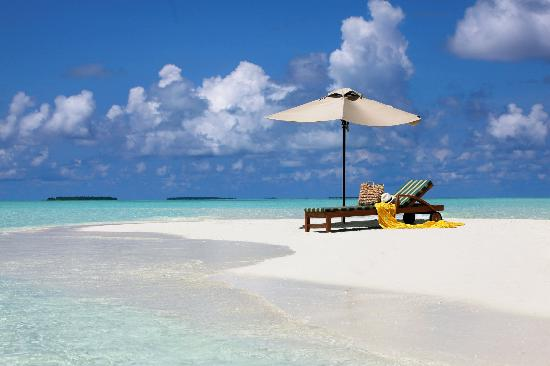The Residence Maldives: Sandbank