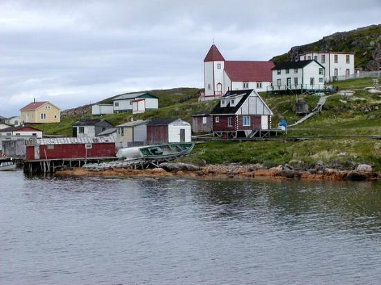 Battle Harbour National Historic District: The old town of Battle Harbour.