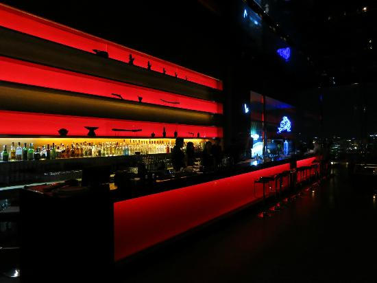 Long Table The Bar Area