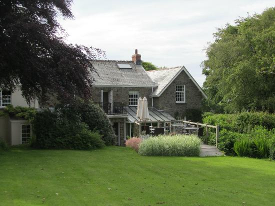 The Old Rectory Hotel: View from the garden