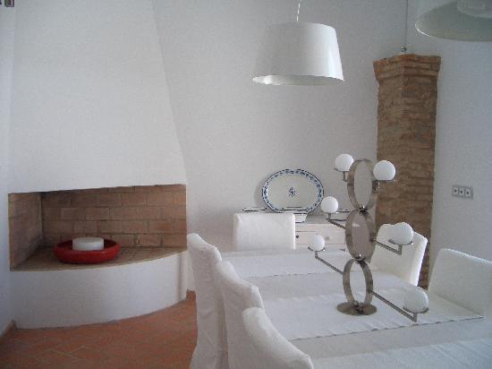 Casa La Menara: comedor