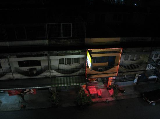 Thairungruang Hotel: View from Room