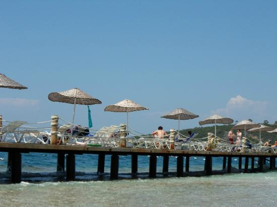 Blue Dreams Resort: beach area
