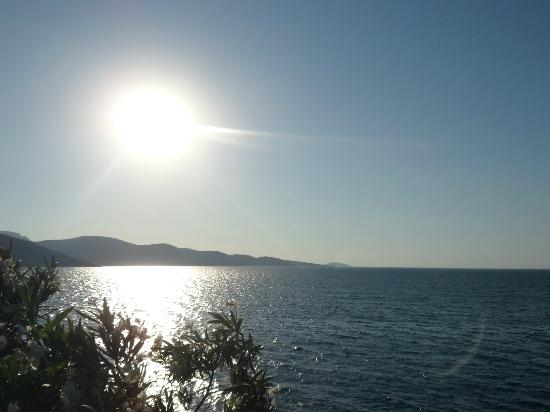 Torba, Turkey: view of sea