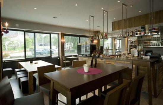 Hotel Oasis : Café