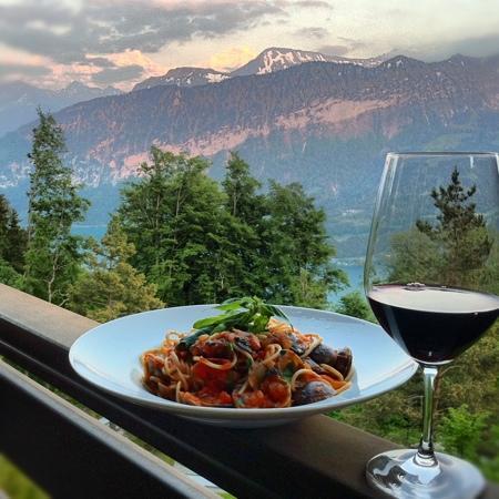 Hotel Gloria Restaurant: Great Food & amazing Views