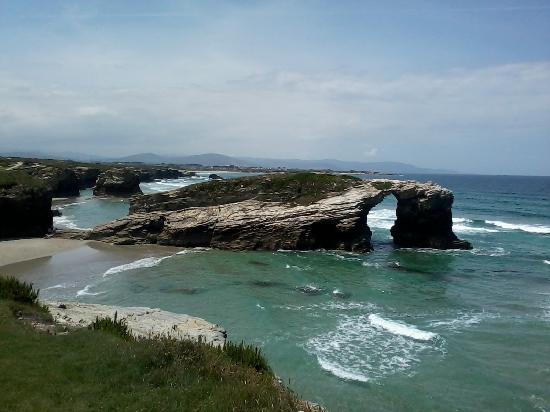 Playa de las Catedrales: Ancora con il mare un pò alto