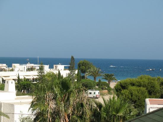 Family Agua Amarga: view from bedroom balcony