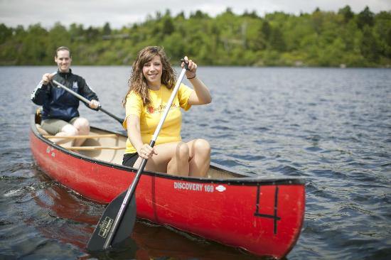 Rockwood Park: Canoeing on Lily Lake