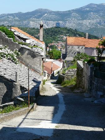 Korcula Island - Priscapac : Zrnovo village - just beautiful