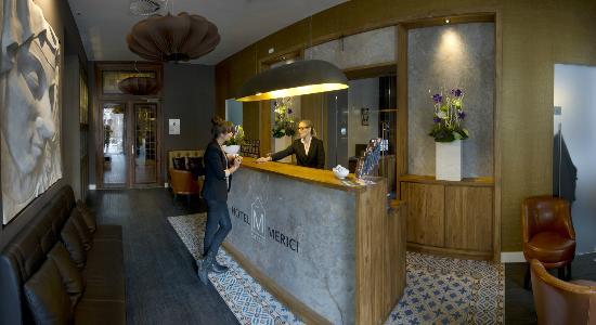 Grand Hotel Merici : Reception