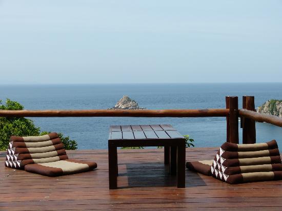บ้านทะเล กะเต่า: Vue de la terrasse