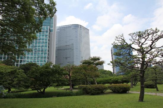 Giardini di Hama Rikyu: kouennnai