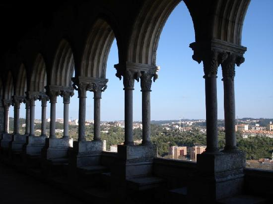 Vista Castelo de Leiria