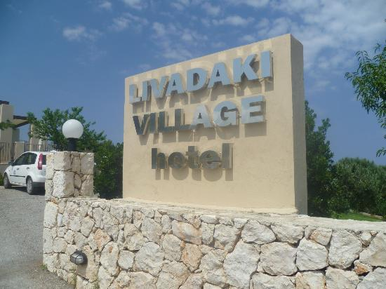 Livadaki Village Hotel: Sign