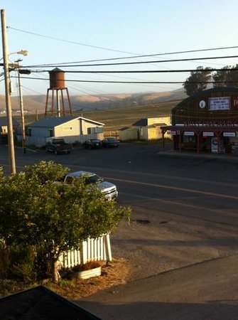 Valley Ford Hotel:                   vue de la chambre 6