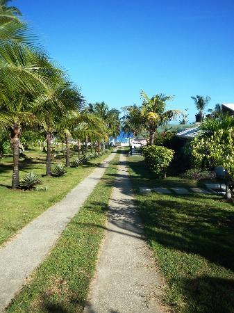 Playa Tranquilo: Einfahrt